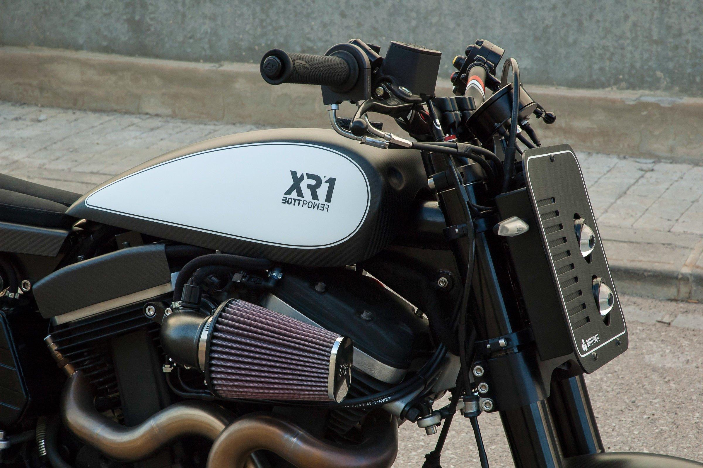 The BOTT XR1 Buell Conversion Kit