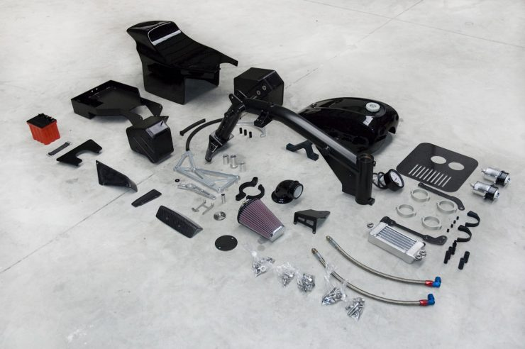 BOTT XR1 Buell Conversion Kit Parts