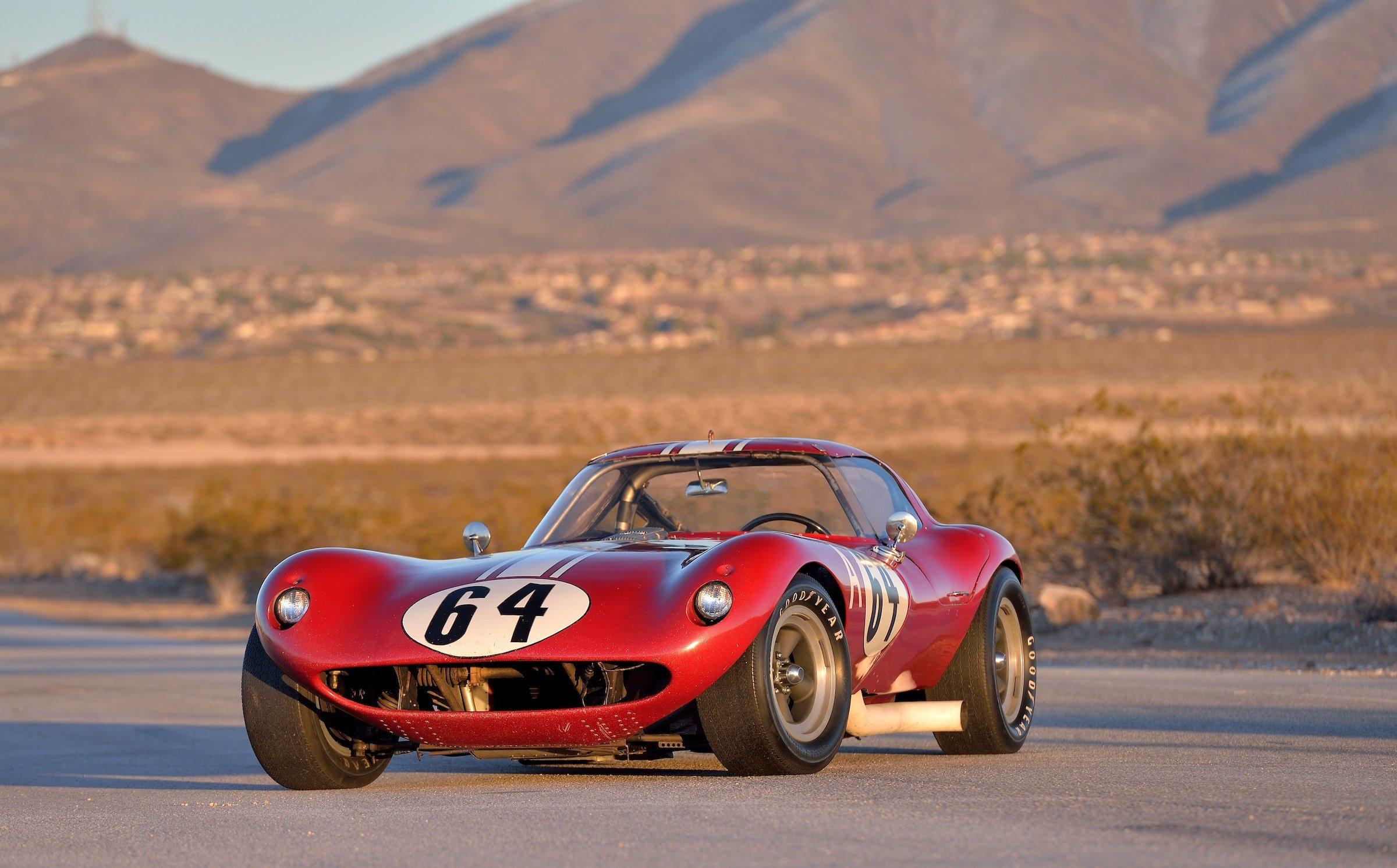 Bill Thomas Cheetah 4 The Race Car Designed In Chalk On A Garage Floor