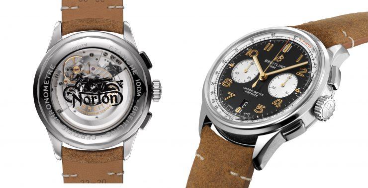 Breitling Premier B01 Chronograph 42 Norton Edition Details