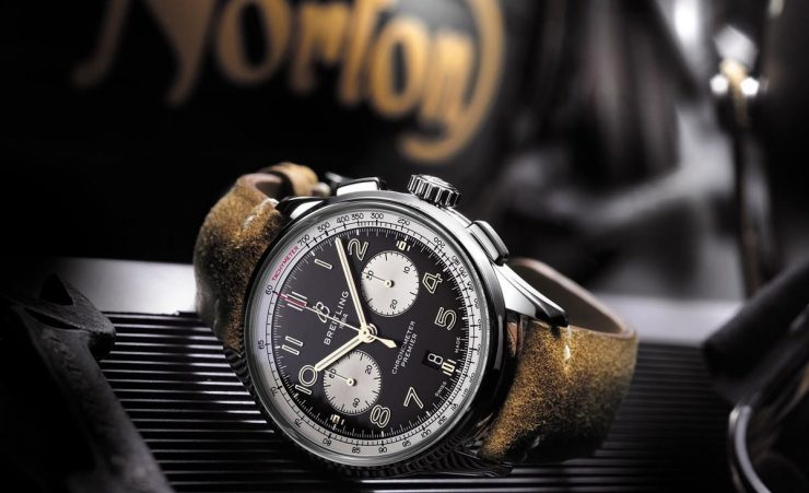 Breitling Premier B01 Chronograph 42 Norton Edition Watch