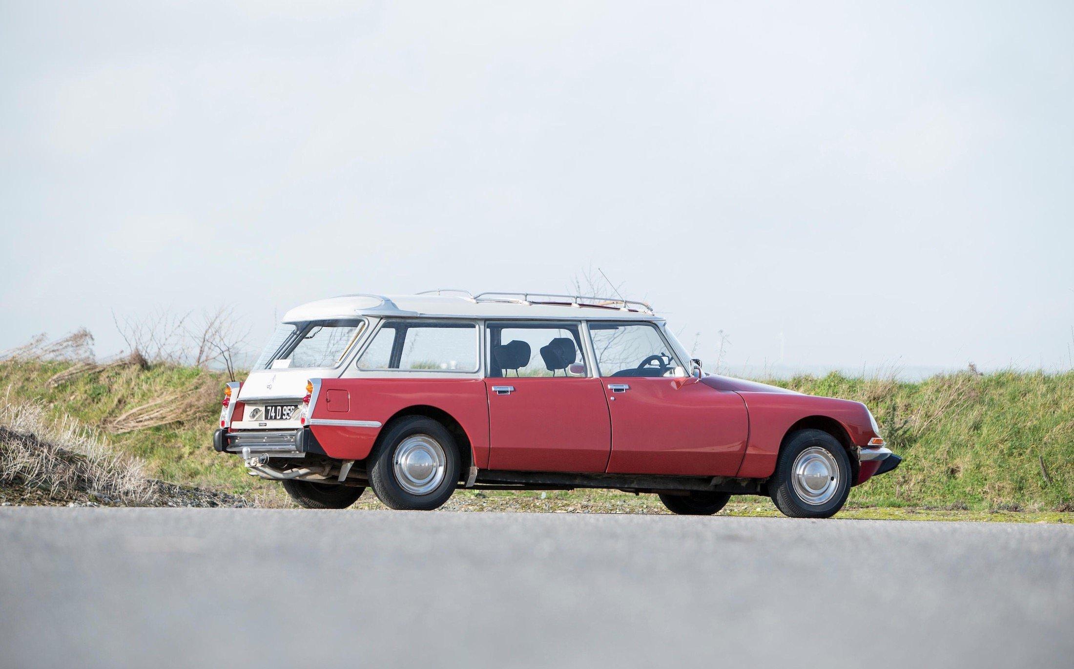 Citro 235 N Ds Safari Estate A Rare French Seven Seater Wagon