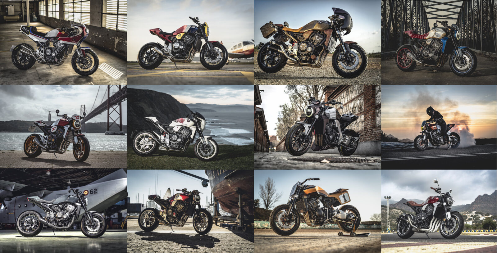 The Honda CB1000R - 13 New Customs From Spain, Portugal, and the Balearic Islands