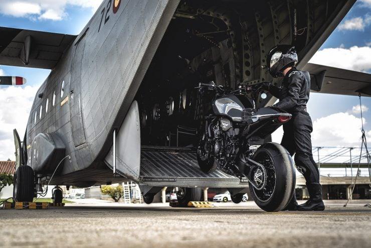 Custom Honda CB1000R Plane