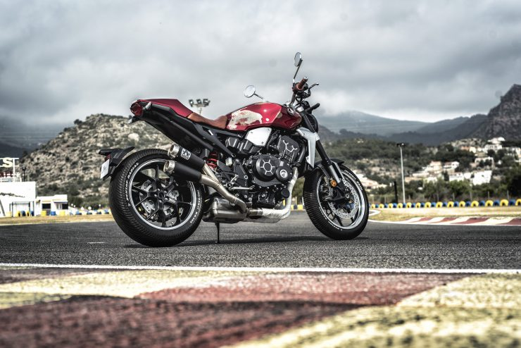 Custom Honda CB1000R Rear