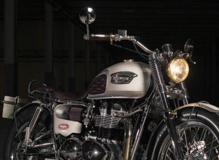 Custom Triumph Bonneville 5