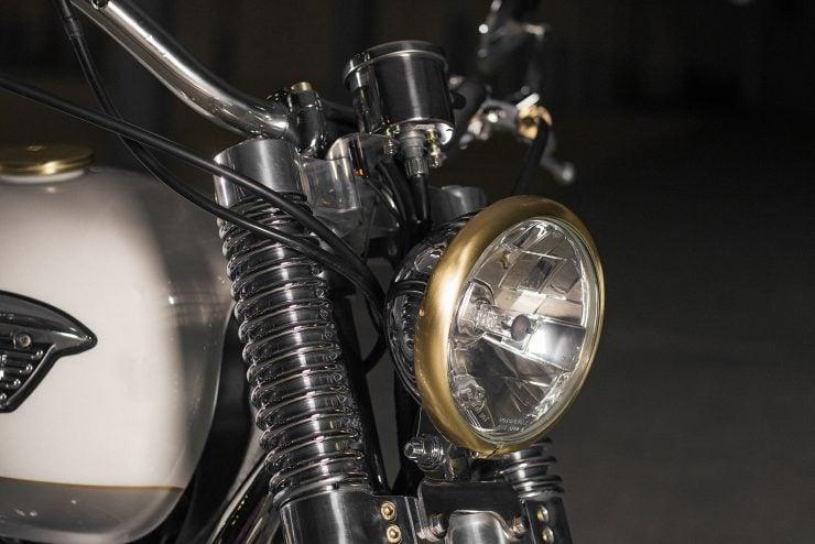 Custom Triumph Bonneville Headlight