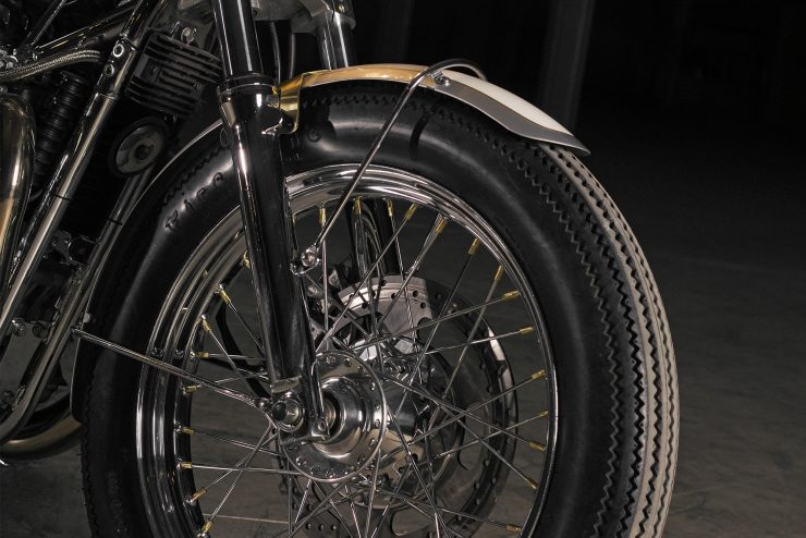 Custom Triumph Bonneville Wheels