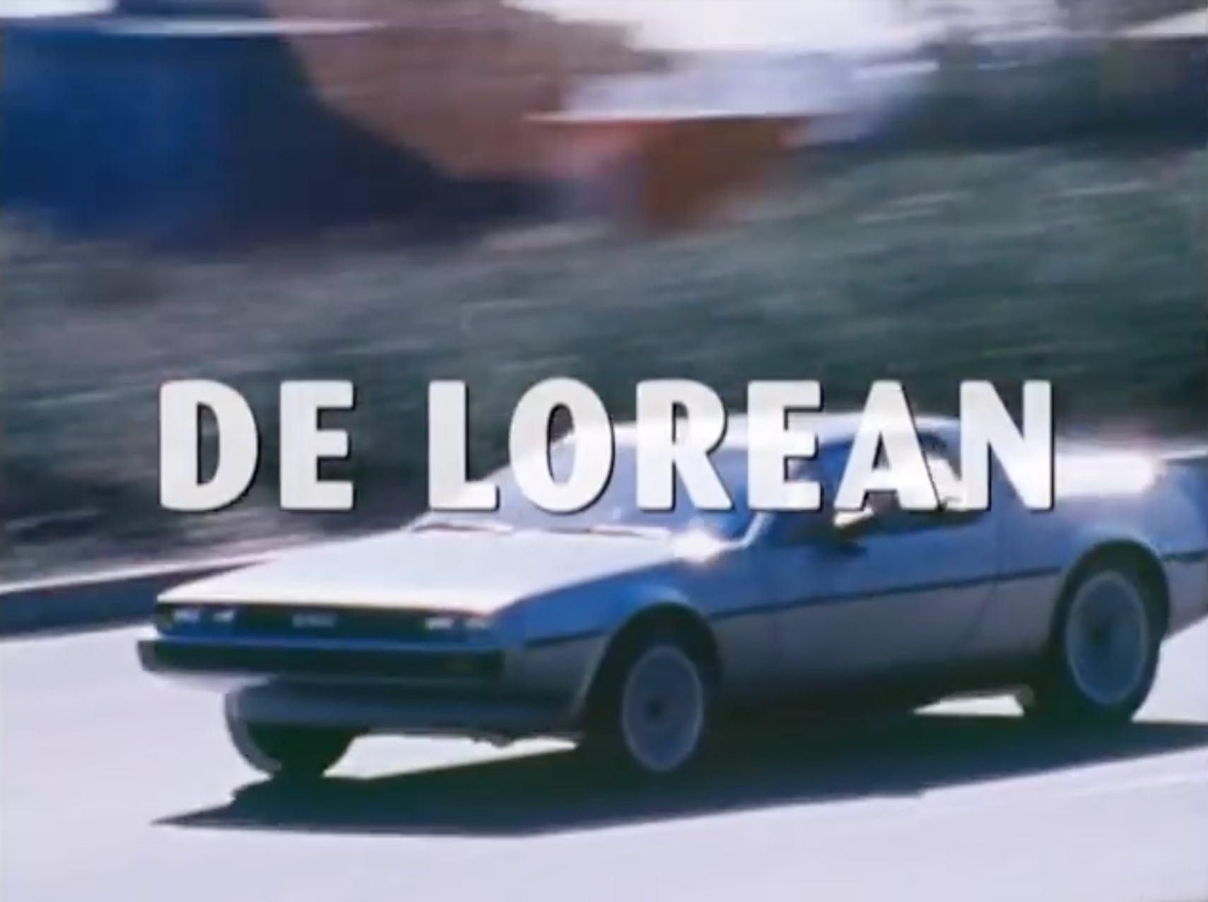 DeLorean Film