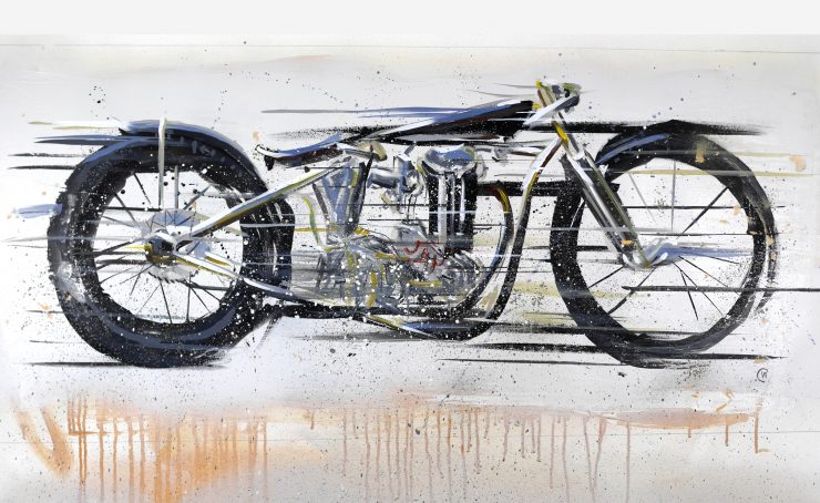 Max Hazan Custom Motorcycle Art