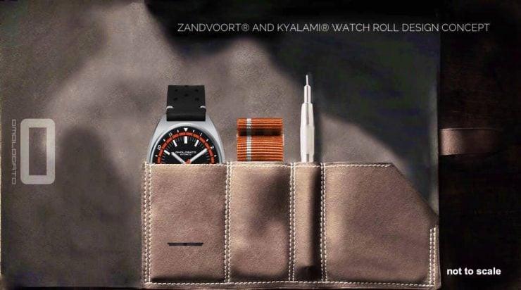 Omologato Zandvoort Automatic Wristwatch Watch Roll