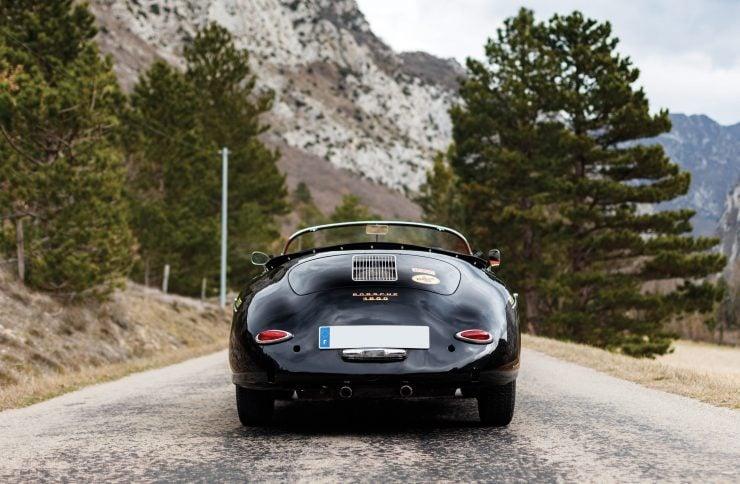 Porsche 356 Speedster Back 2