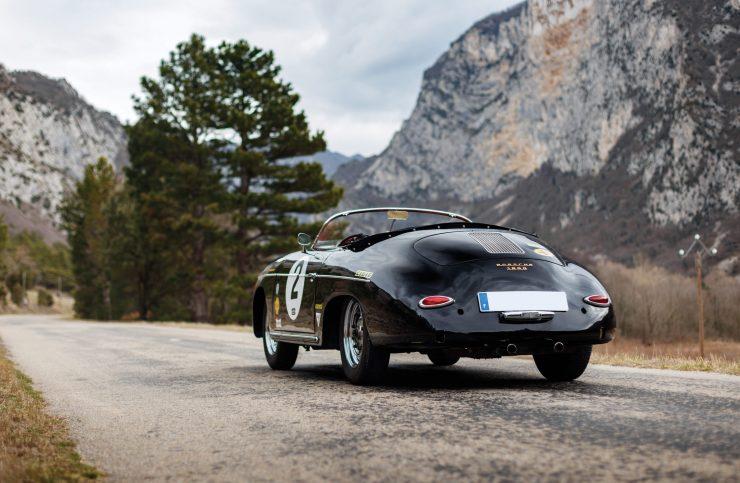 Porsche 356 Speedster Back