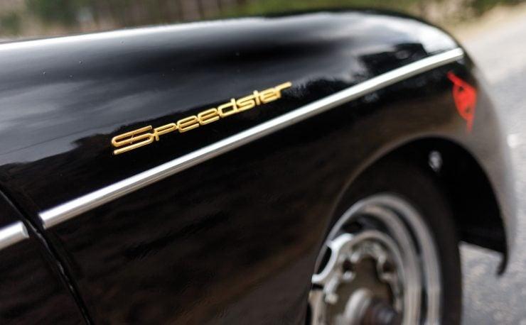 Porsche 356 Speedster Badge