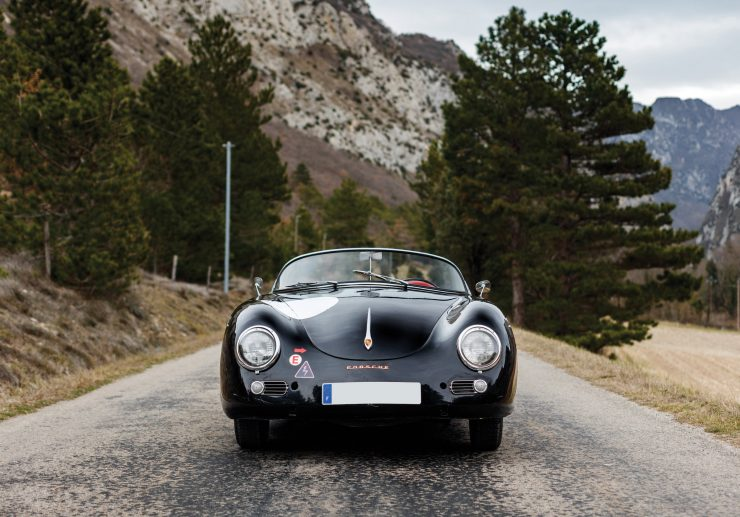 Porsche 356 Speedster Front 2