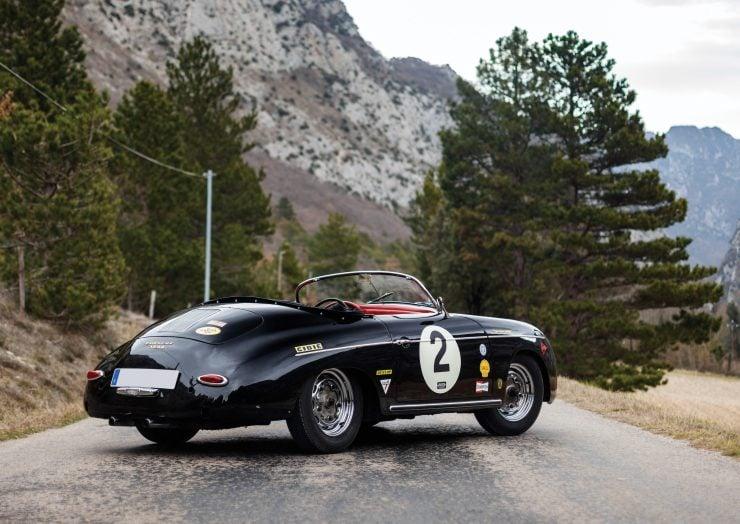 Porsche 356 Speedster Rear