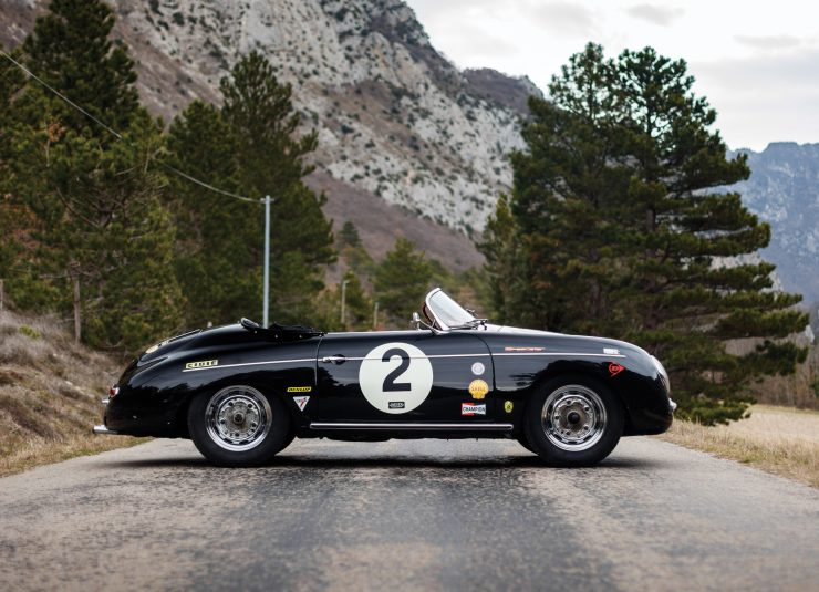 Porsche 356 Speedster Side