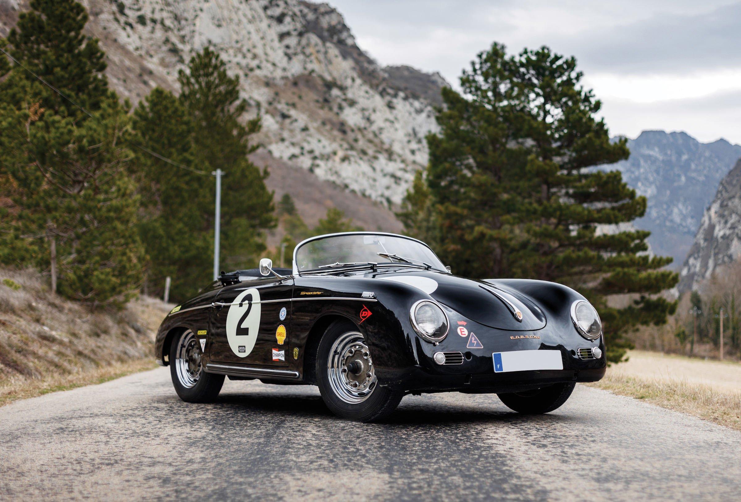 An Immaculate Porsche 356 Speedster Outlaw