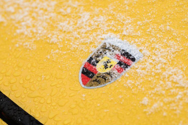 Porsche 997 911 S Badge