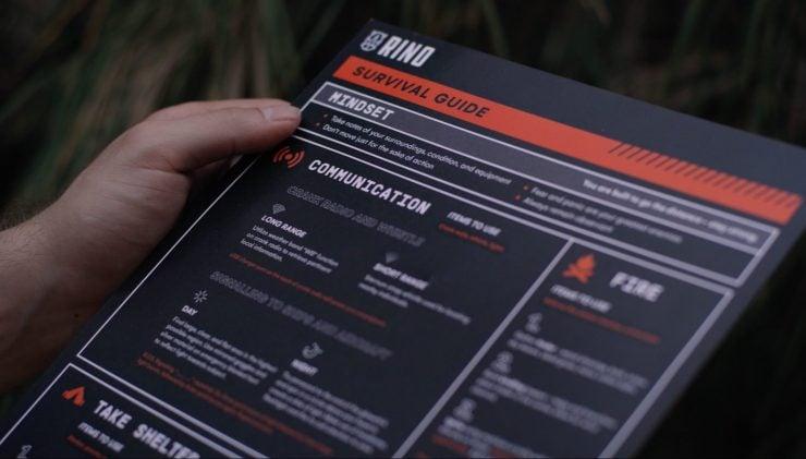 RINO Ready Survival Kit 9