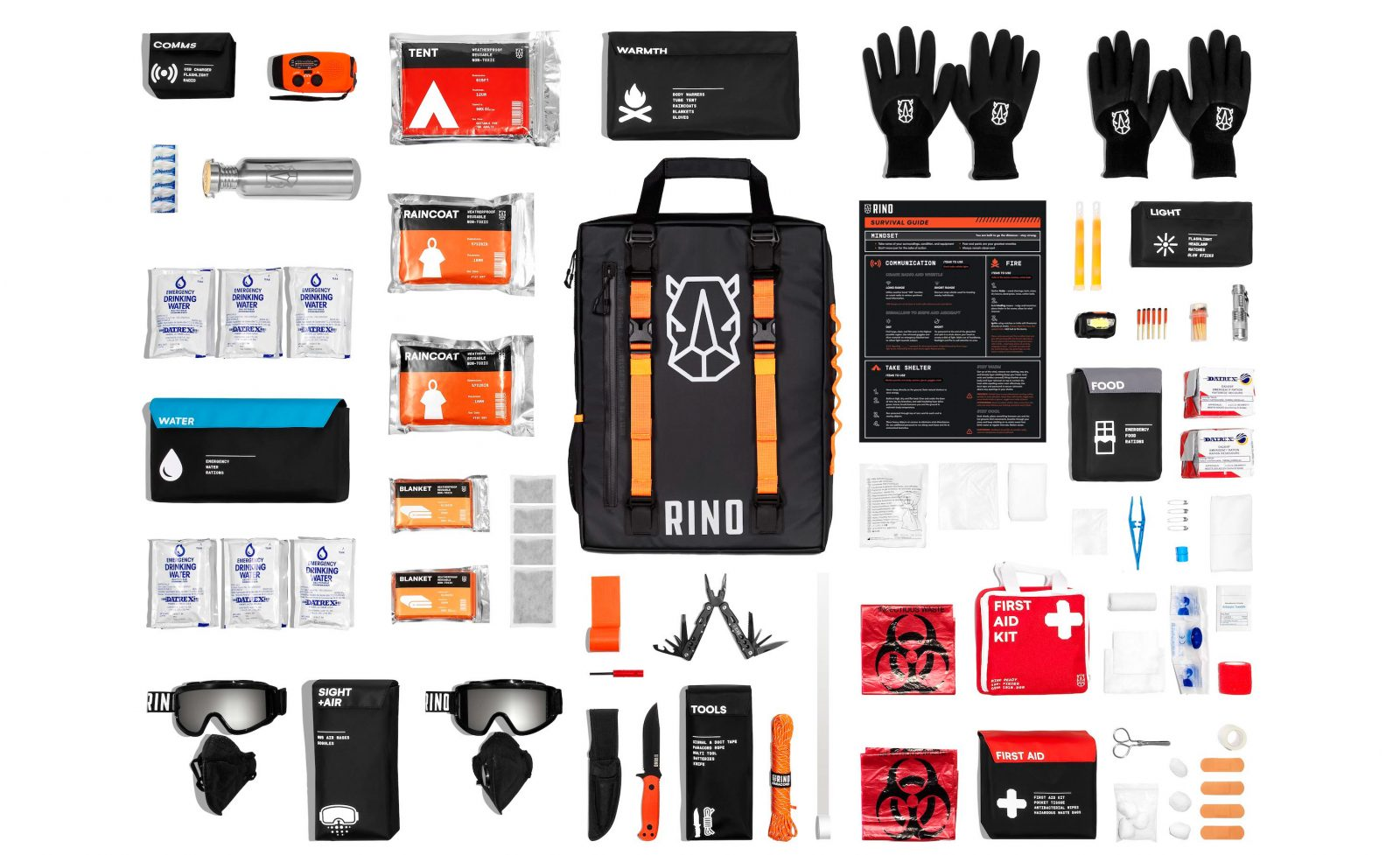 RINO Ready Survival Kit Main