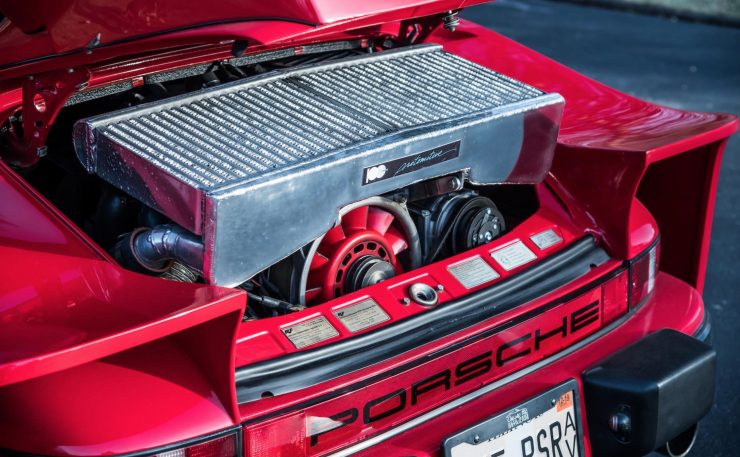 RUF Modified Porsche 911 Engine