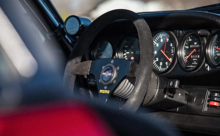 RUF Modified Porsche 911 Interior 2