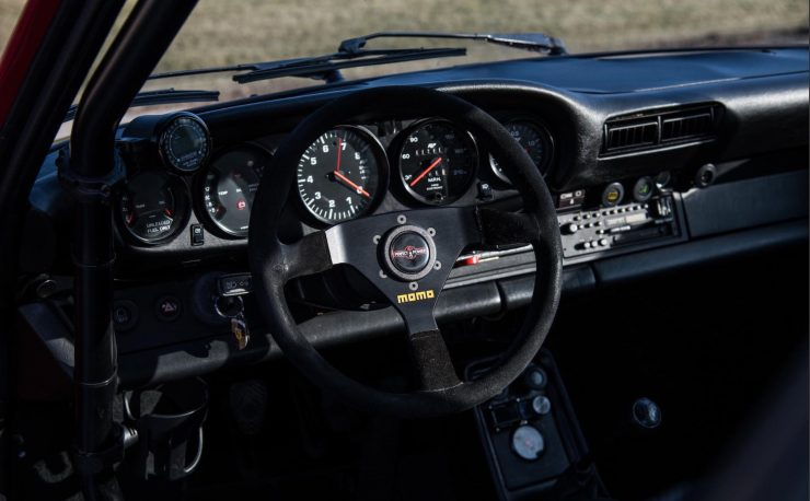 RUF Modified Porsche 911 Interior