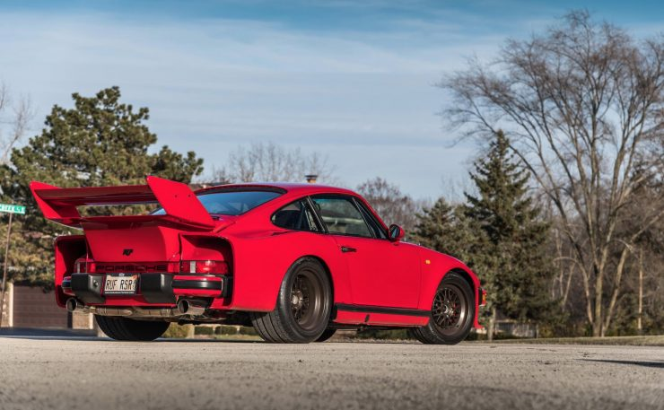RUF Modified Porsche 911 Rear 2