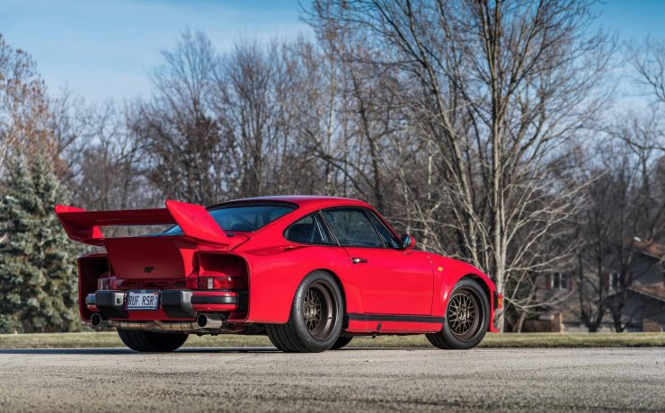 RUF Modified Porsche 911 Rear 3