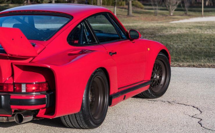 RUF Modified Porsche 911 Rear