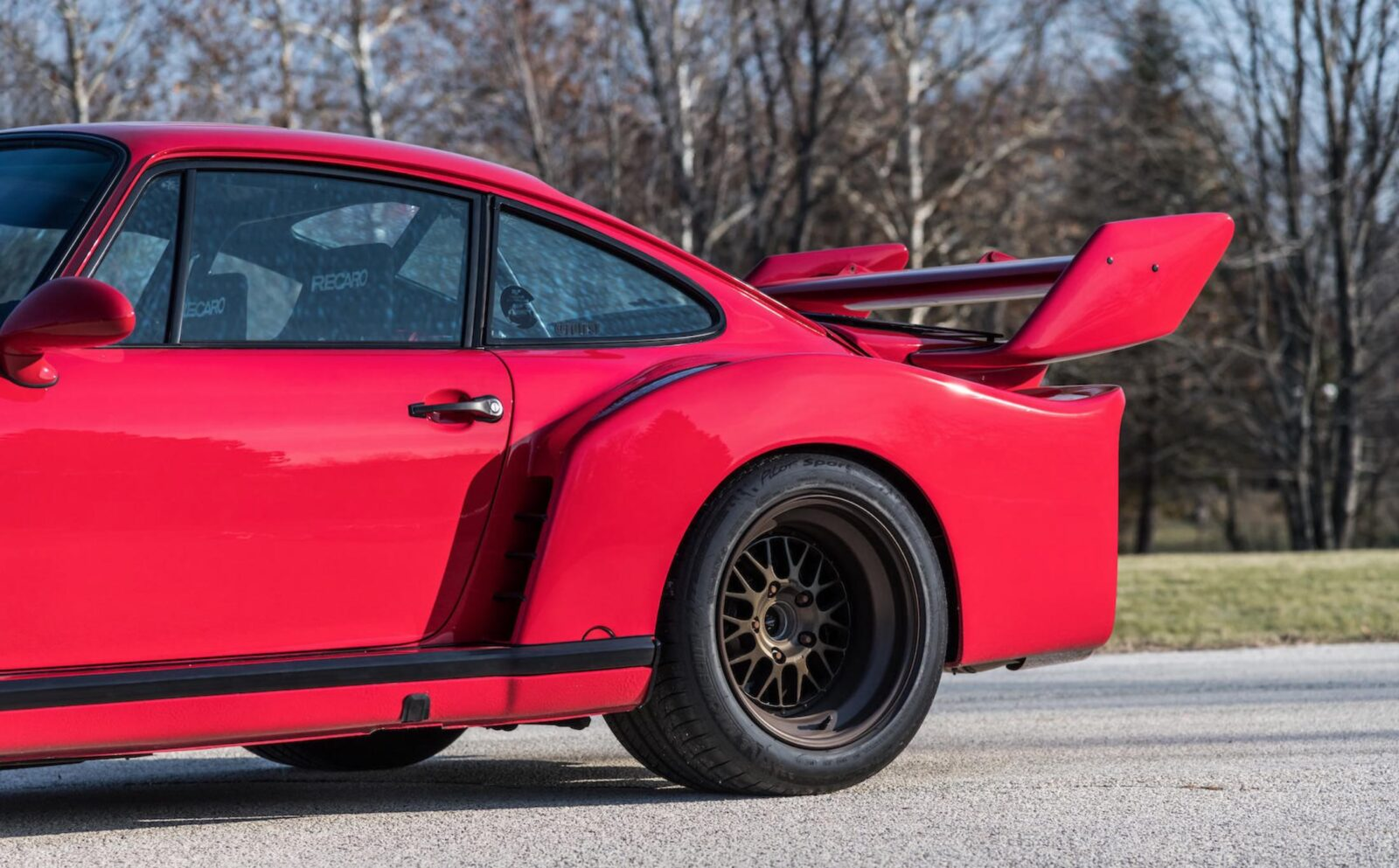 RUF Modified Porsche 911 Rear Wing