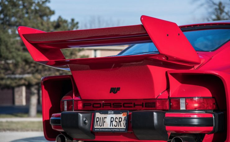 RUF Modified Porsche 911 Tail