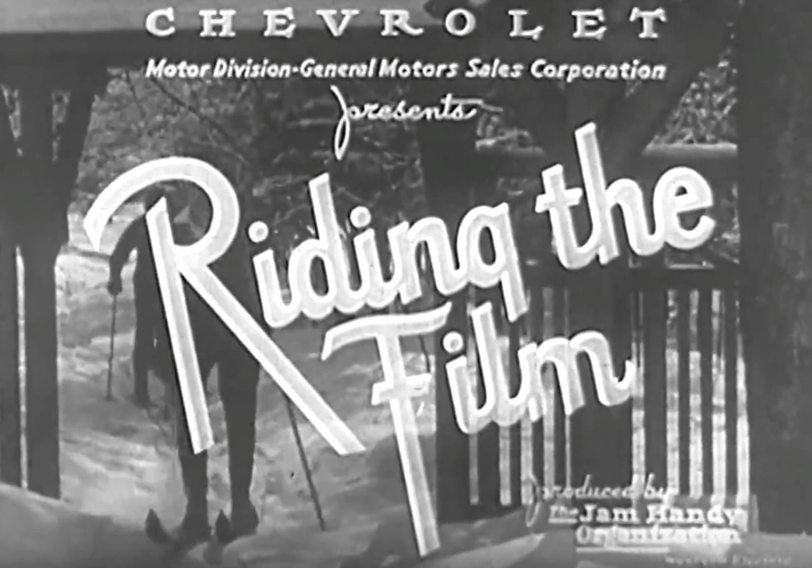 Riding The Film