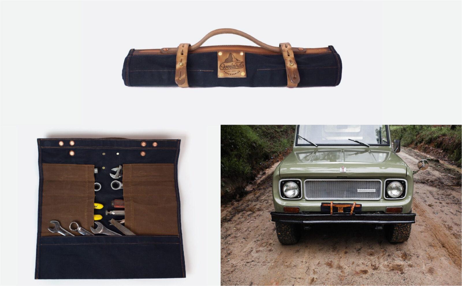 Sturdy Brothers Overlanding Car Kit Tool Roll Hero