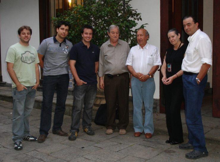 Rafael Juncioni, Rafael Tardelli, Fernando Piaya, Ari Rocha, Marcio Piancastelli, Jota's wife, Jota