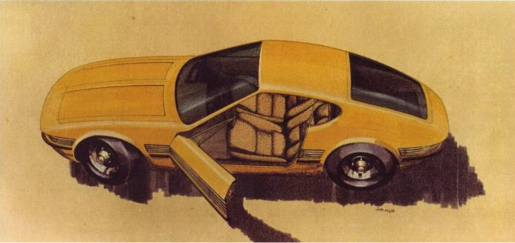 Jota sketch Volkswagen SP2