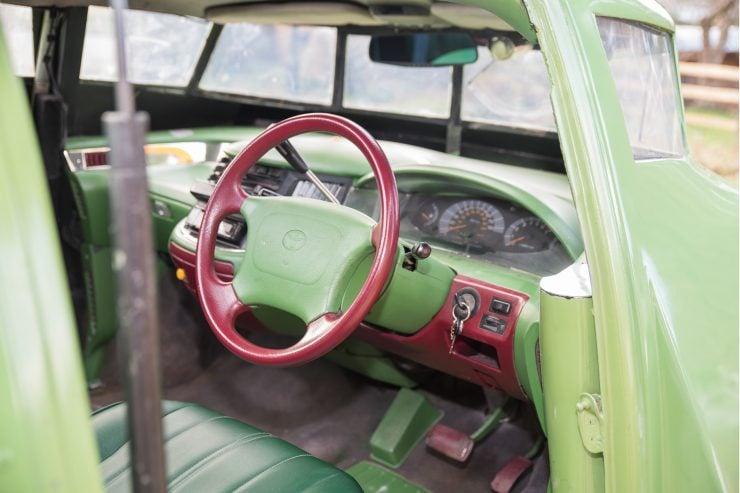 Thunderbird 2 Camper Van Cockpit 2
