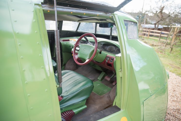 Thunderbird 2 Camper Van Cockpit