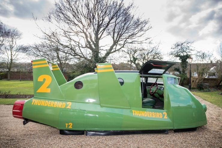 Thunderbird 2 Camper Van Door