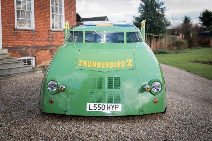 Thunderbird 2 Camper Van Front