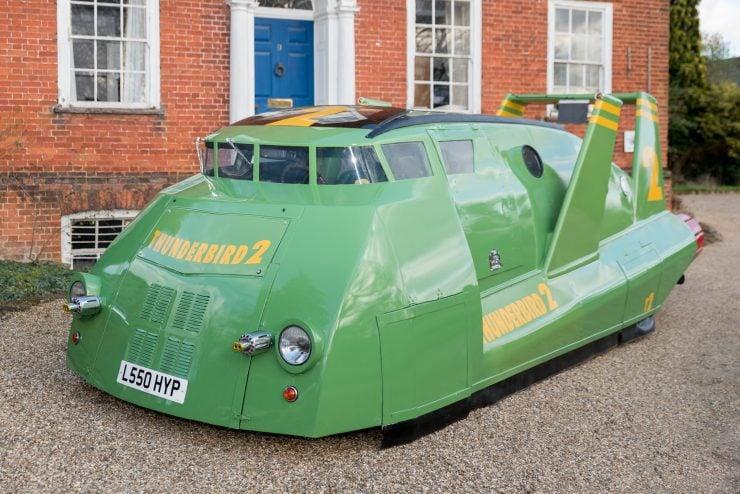 Thunderbird 2 Camper Van Front Side