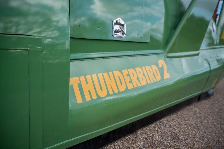 Thunderbird 2 Camper Van Logo