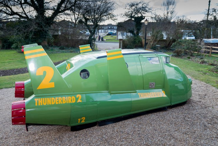 Thunderbird 2 Camper Van Rear
