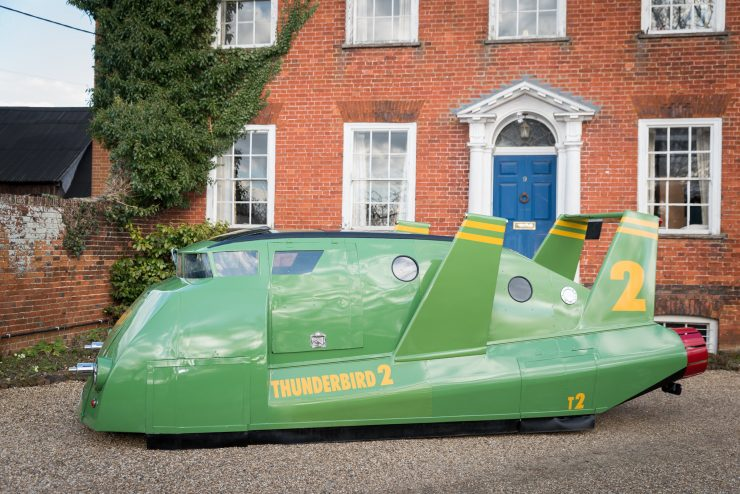 Thunderbird 2 Camper Van Side Close