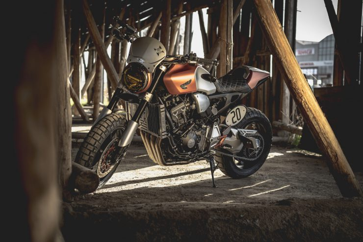 Custom Honda CB1000R Tracker