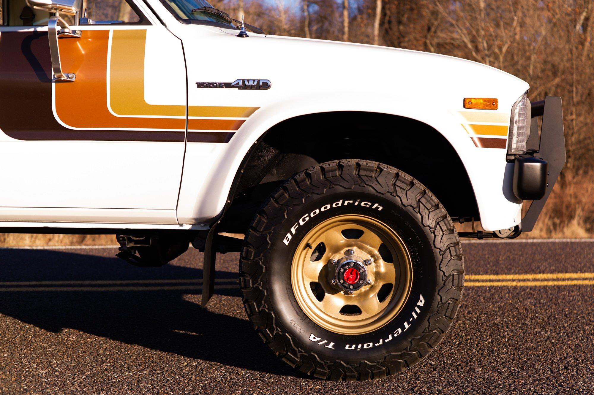 Toyota HiLux SR5 Pickup Truck Wheel
