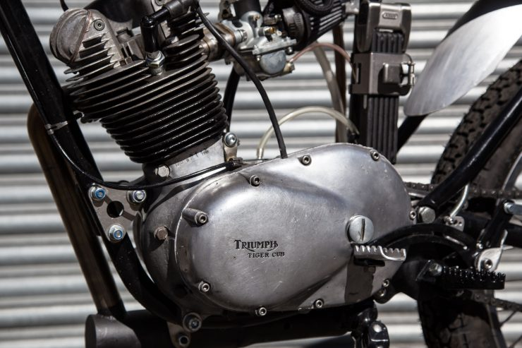 Triumph Tiger Cub Custom Engine