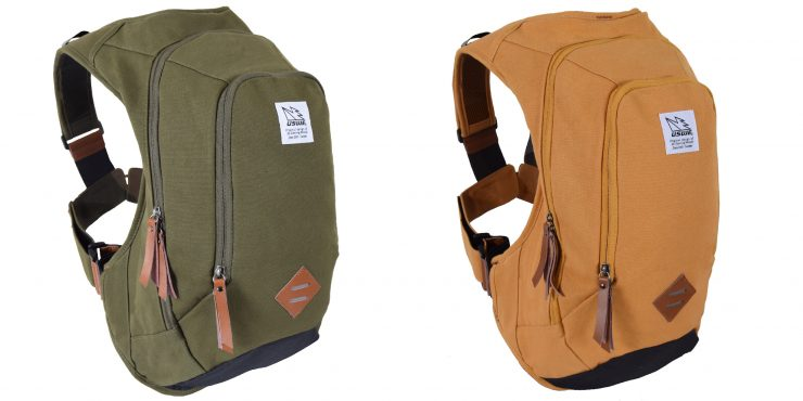 USWE Scrambler 16 Motorcycle Backpack Green and Khaki