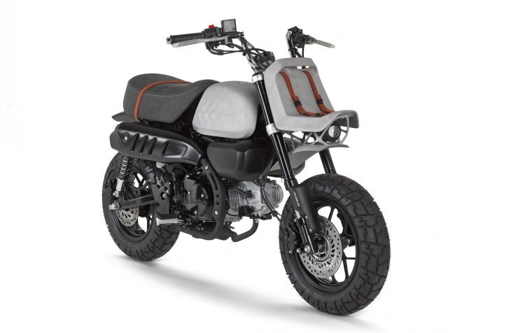 VIBA Jane – A Honda Monkey Custom 1